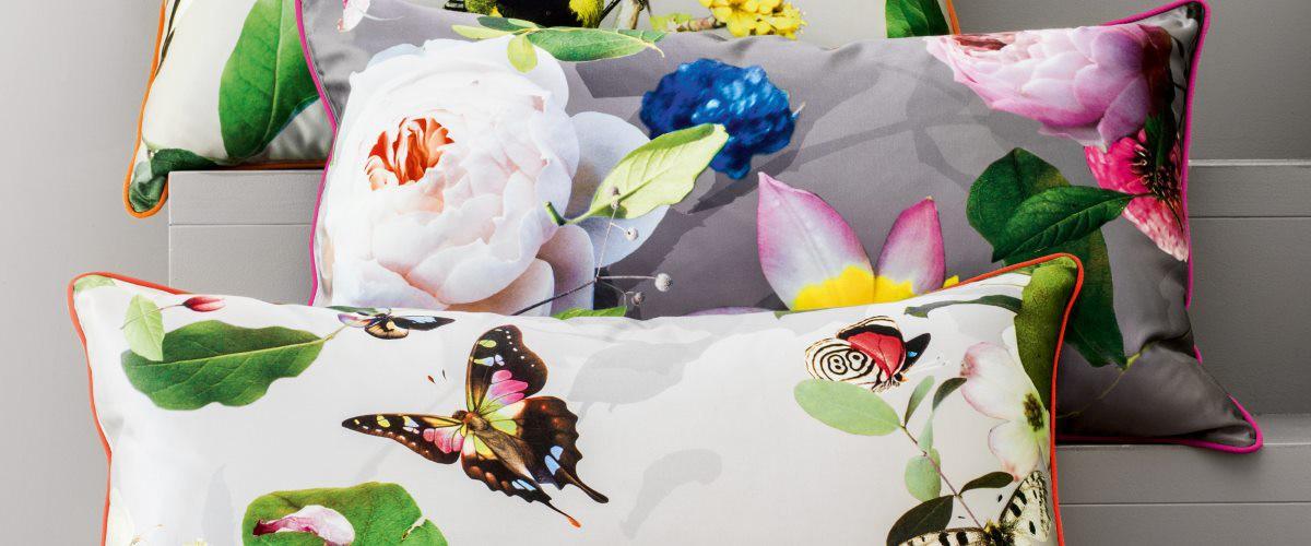 Creation Baumann - Textiles Accessoire Cushion Rose