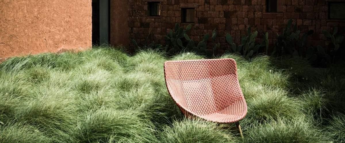 Dedon Mbrace Sessel ohne Polster