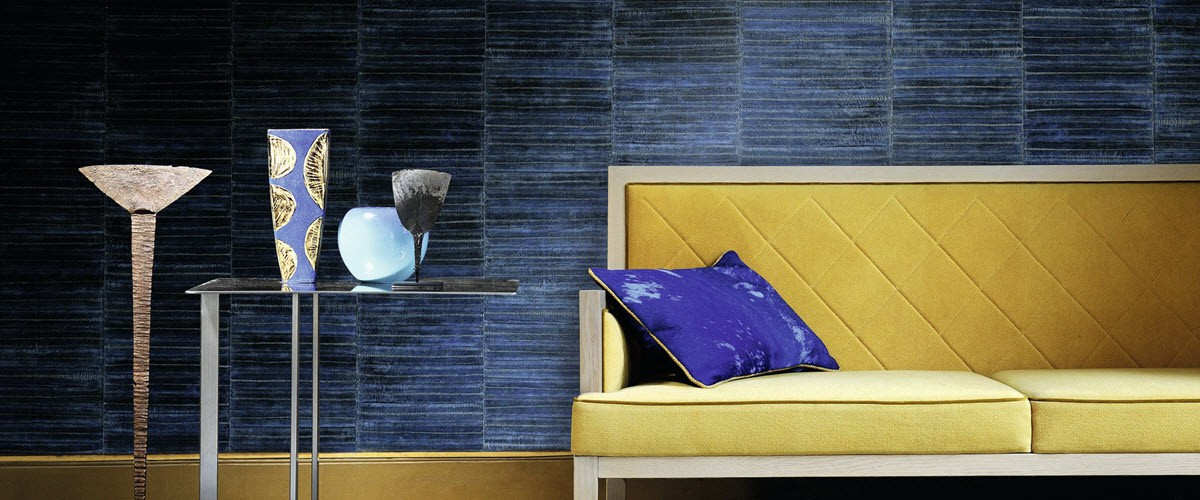 Elitis Anguille Big croco Galucha Wallcovering 12