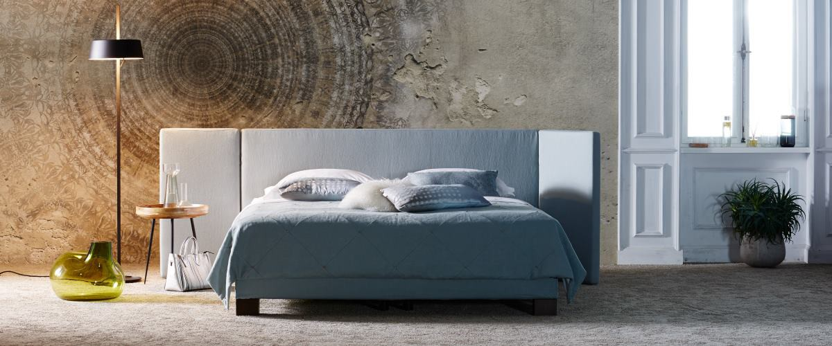 Schramm Bett Origins Corner Malve